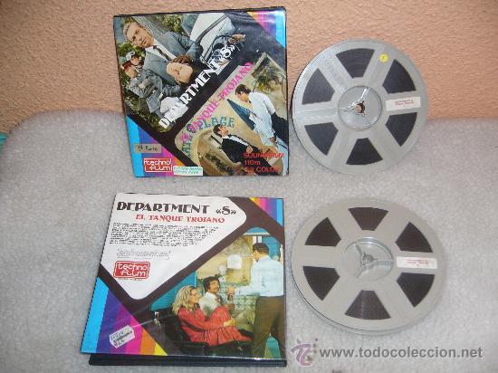 SUPER8:DEPARTAMENTO S:EL TANQUE TROJANO-COLOR.SONORA.2X120MTS.BUEN ESTADO.TENGO MAS FILMS (Cine - Películas - Super 8 mm)