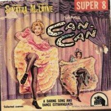 Cine: SUPER 8 ++ CAN CAN ++ REDUCCIÓN 120 METROS V.O. CON SHIRLEY MACLAINE. Lote 34020049