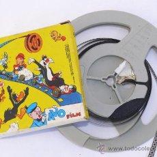 Cine: 1967 WARNER BROS ANTIGUA PELICULA 35MM PARA PROYECTOR SUPER 8 . Lote 34931469