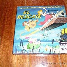 Cine: PELICULA SUPER OCHO 8MM LOS RESCATADORES EL RESCATE WALT DISNEY SONORA !!!!. Lote 34976219