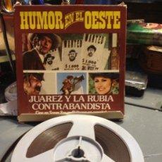 Cine: PELICULA SUPER 8MM HUMOR EN EL OESTE JUAREZ Y LA RUBIA CONTRABANDISTA. Lote 35404404