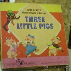 Cine: THREE LITTLE PIGS - HOME MOVIES SUPER 8 COLOUR. Lote 35666838