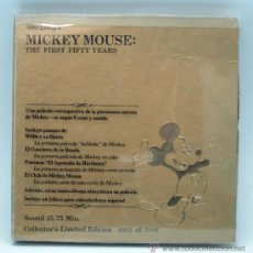 Cinema: MICKEY MOUSE THE FIRST FIFTY YEARS PELÍCULA SUPER 8 Y LIBRO COLLECTOR S EDITION LIMITED 4002 OF 5000. Lote 36442048