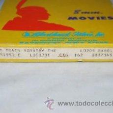 Cine: EL GRAN ASALTO AL TREN 1903.PELÍCULA SUPER 8MM.HISTORIA DEL CINE.. Lote 36585749