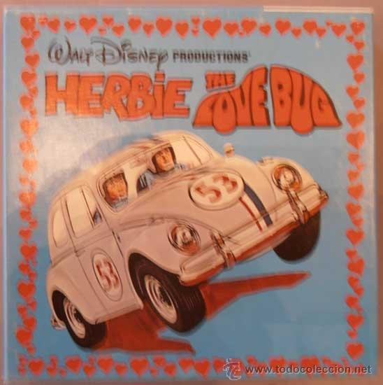 HERBIE THE LOVE BUG (AHÍ VA ESE BÓLIDO). WALT DISNEY SUPER 8 HOME MOVIES. EN INGLÉS (Cine - Películas - Super 8 mm)