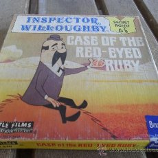Cine: PELICULA DE SUPER 8 CASTLE FILMS PRINTED IN USA INSPECTOR WILLOUGHBY CASE OF THE RED EYED RUBY. Lote 37897399