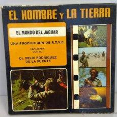 Cine: EL MUNDO DEL JAGUAR, SERIE AMERICANA DE EL HOMBRE Y LA TIERRA, PELÍCULA SUPER 8, ENVÍO GRATIS. Lote 39820607