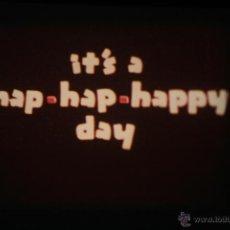 Cine: SUPER 8 ++ IT'S A HAP-HAP-HAPPY DAY ++ CORTO ANIMACIÓN FLEISCHER 1941. Lote 40102267