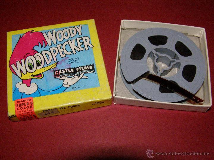 PELÍCULA SUPER 8MM. WOODY WOODPECKER - EL PÁJARO LOCO - CASTLE FILMS - (Cine - Películas - Super 8 mm)