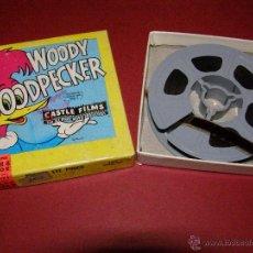 Cine: PELÍCULA SUPER 8MM. WOODY WOODPECKER - EL PÁJARO LOCO - CASTLE FILMS -. Lote 40361727