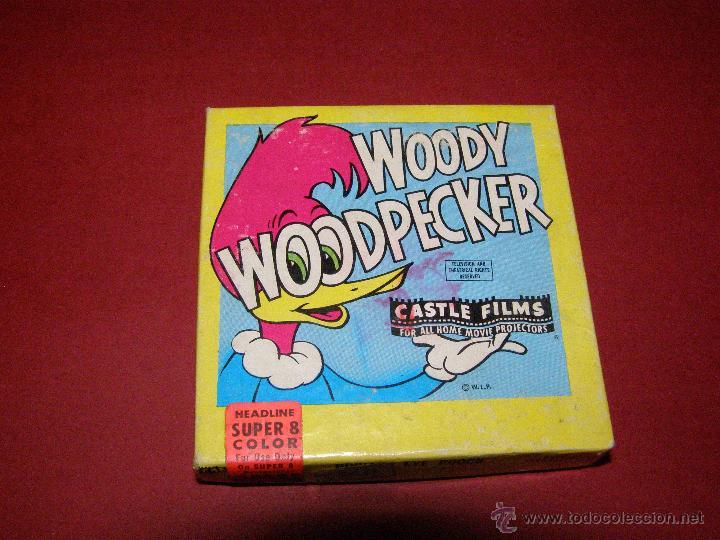 Cine: Película super 8mm. Woody WoodPecker - El pájaro loco - Castle Films - - Foto 3 - 40361727