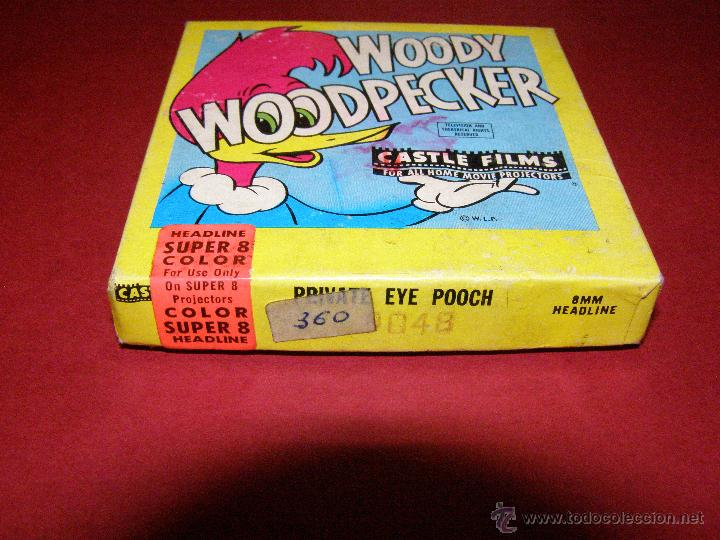 Cine: Película super 8mm. Woody WoodPecker - El pájaro loco - Castle Films - - Foto 4 - 40361727