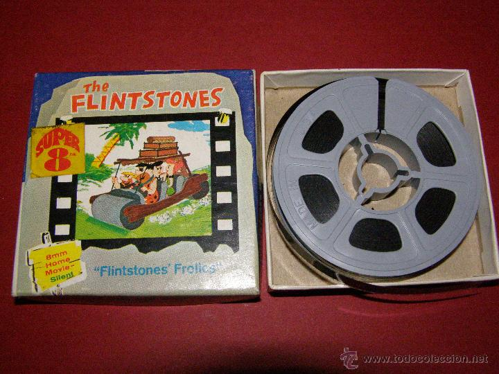 PELÍCULA SUPER 8 - 8 MM. - THE FLINTSTONES - LOS PICAPIEDRA - FLINTSTONES´ FROLICS - CASTLE FILMS - (Cine - Películas - Super 8 mm)