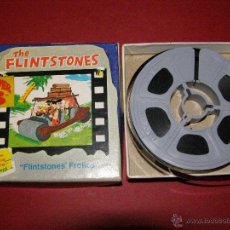 Cine: PELÍCULA SUPER 8 - 8 MM. - THE FLINTSTONES - LOS PICAPIEDRA - FLINTSTONES´ FROLICS - CASTLE FILMS -. Lote 40361760
