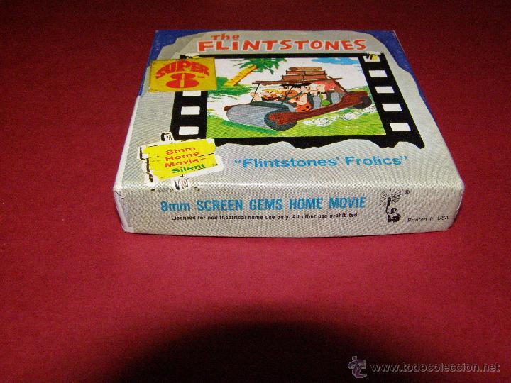 Cine: Película Super 8 - 8 mm. - The Flintstones - Los Picapiedra - Flintstones´ Frolics - Castle films - - Foto 3 - 40361760