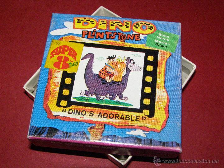 Cine: Película Super 8 - 8mm. - Dino Flintstone - Dino Picapiedra - Dino´s Adorable - Castle Films - - Foto 2 - 40361783