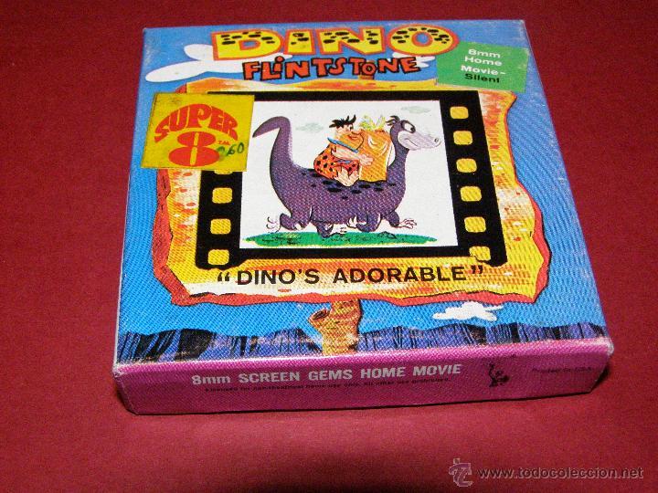 Cine: Película Super 8 - 8mm. - Dino Flintstone - Dino Picapiedra - Dino´s Adorable - Castle Films - - Foto 3 - 40361783