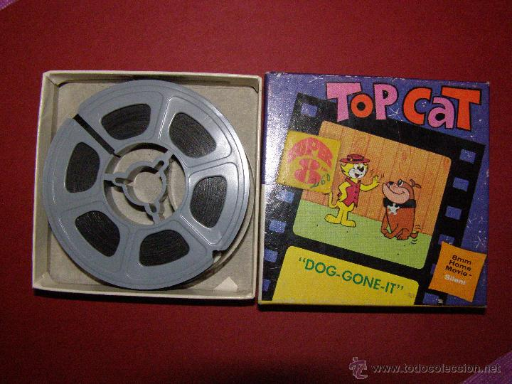 PELÍCULA SUPER 8 - 8 MM. - TOP CAT - DON GATO - DOG-GONE IT - CASTLE FILMS - (Cine - Películas - Super 8 mm)