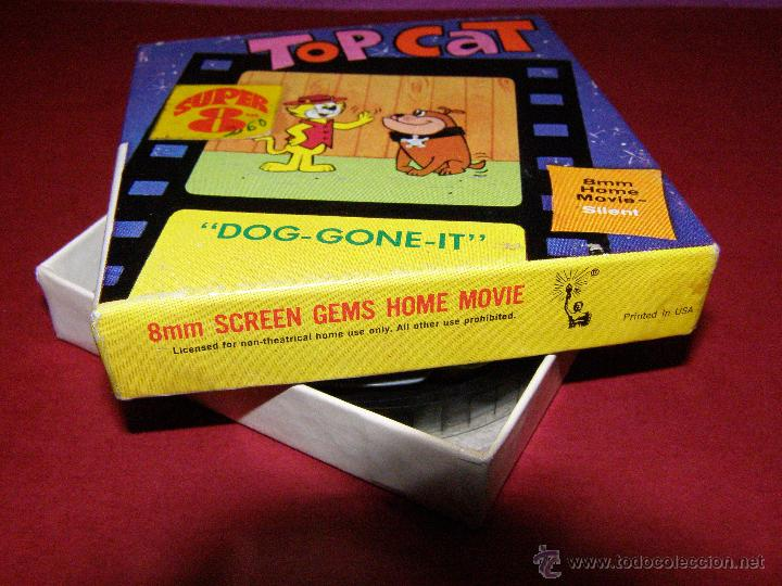 Cine: Película Super 8 - 8 mm. - Top Cat - Don Gato - Dog-Gone It - Castle Films - - Foto 2 - 40361815