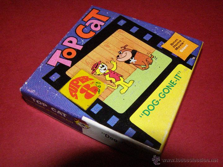 Cine: Película Super 8 - 8 mm. - Top Cat - Don Gato - Dog-Gone It - Castle Films - - Foto 3 - 40361815