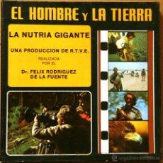 Cine: SUPER 8 ++ EL HOMBRE Y LA TIERRA. LA NUTRIA +DC+ 180METROS. Lote 41698298