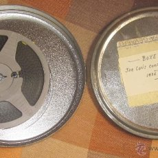 Cine: JOE LUIS CONTRA SCHMELING,1936-1938,PELÍCULA SUPER 8,BOXEO,DE LOS AÑOS 60. Lote 42915548