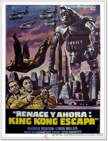 KING KONG SE ESCAPA (KINGU KONGU NO GYAKUSHÛ,1967) SUPER 8 BOBINA DE 120M (Cine - Películas - Super 8 mm)