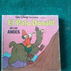 Cine: EL PATO DONALD EN LOS ANDES. Lote 44054933