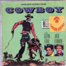 Cinéma: SUPER 8 ++ COWBOY +R+ 60 METROS CON JACK LEMMON Y GLENN FORD. Lote 45125152