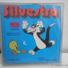 Cine: PELICULA SUPER 8 MM SILVESTRO - SILVESTRE EN EL CAMPO. Lote 45467273