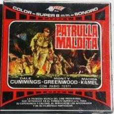 Cinéma: SUPER 8 ++ PATRULLA MALDITA +R+ 120 METROS. Lote 47840137