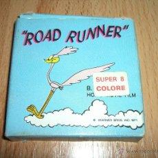 Cine: PELICULA SUPER 8 ROAD RUNNER. Lote 46721215