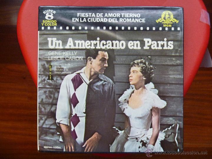 UN AMERICANO EN PARIS SUPER 8 (Cine - Películas - Super 8 mm)