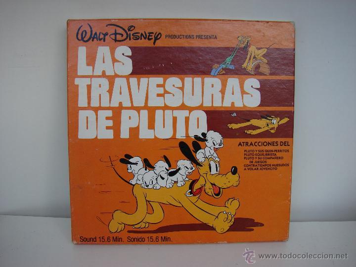 WALT DISNEY. LAS TRAVESURAS DE PLUTO. PELICULA EN SUPER 8. NUMERO 639 (Cine - Películas - Super 8 mm)