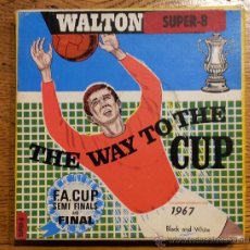 Cine: SUPER 8 THE WAY TO THE CUP 1967 F.A. CUP SEMI FINALS AND FINAL HIGHLIGHT B/W. Lote 47530789