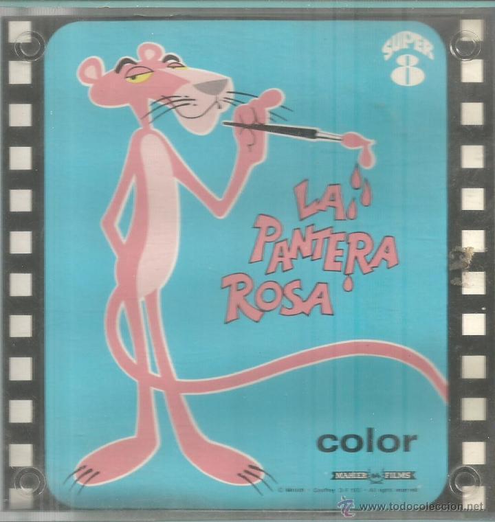 LA PANTERA ROSA--PELÍCULA DIBUJOS ANIMADOS--SUPER 8--COLOR--EXCELENTE (Cine - Películas - Super 8 mm)