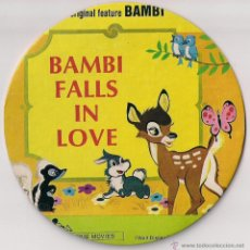 Cine: BAMBI FALLLS IN LOVE. Lote 48110345