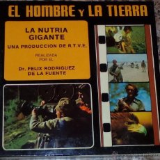 Cine: SUPER 8 ++ EL HOMBRE Y LA TIERRA. LA NUTRIA GIGANTE ++ 180 METROS (DC). Lote 48836190