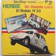 Cine: PELICULA CINE SUPER 8 SONORO WALT DISNEY, HERBIE UN VOLANTE LOCO EL BOLIDO Nª 53, BOBINA DE 60 MTS. Lote 49135614