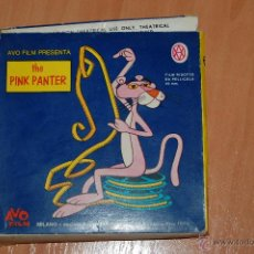 Cine: PELICULA SUPER 8 COLOR THE PINK PANTER LA PANTERA ROSA LA PANTERA MILITARE EN ITALIANO. Lote 50702919