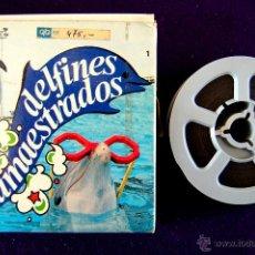 Cine: PELICULA SUPER 8 DELFINES AMAESTRADOS. CINE SUPER 8 MM COLOR. SONORO. Lote 52434052