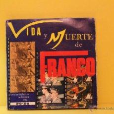 Cine: VIDA Y MUERTE DE FRANCO - NO DO EDICIÓN ESPECIAL. Lote 53605325