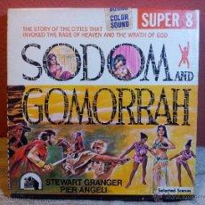 Cine: SUPER 8 SONORO--SODOMA Y GOMORRA --SODOM AND GOMORRAH 1962--KEN FILMS. Lote 53713735