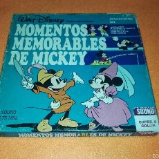 Cine: PELICULA MOMENTOS MEMORABLES DE MICKEY SUPER 8 . DISNEY. Lote 53965063