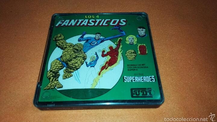 CINTA SUPER 8 MM CON CAPITULO SERIE SUPERHEROES LOS 4 FANTÁSTICOS (Cine - Películas - Super 8 mm)