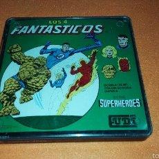 Cine: CINTA SUPER 8 MM CON CAPITULO SERIE SUPERHEROES LOS 4 FANTÁSTICOS. Lote 54334531