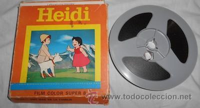 PELÍCULA FILM COLOR SUPER 8, HEIDI, UNO MÁS EN LA FAMILIA (Cine - Películas - Super 8 mm)