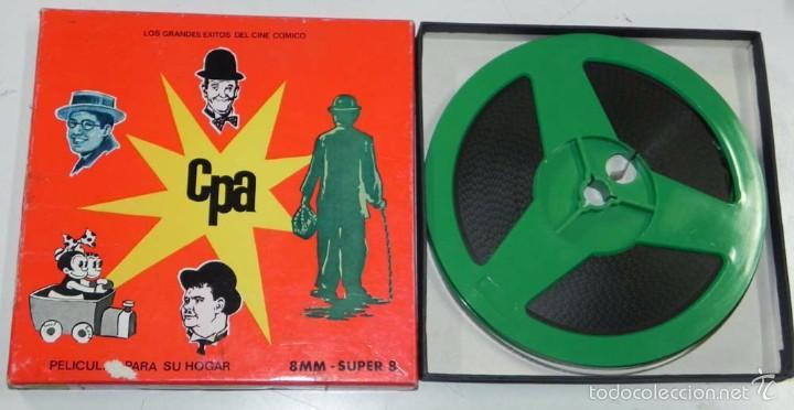 ANTIGUA PELICULA 8 MM. SUPER 8, 1013 RADIOMANIA (LAUREL Y HARDY), LOS GRANDES EXISTOS DEL CINE COM (Cine - Películas - Super 8 mm)
