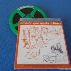 Cine: PELICULA EDUCATIVA ( SUPER 8 ) : EROSION QUE NIVELA LA TIERRA .. Lote 56548513
