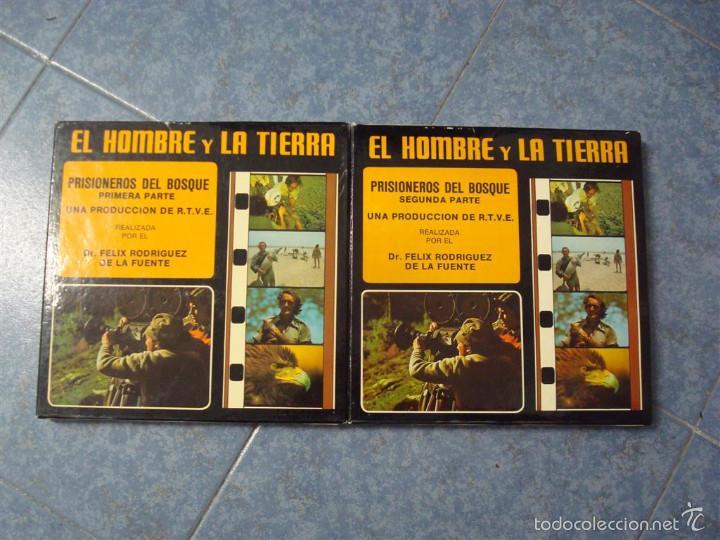 PRISIONEROS DEL BOSQUE-CORTOMETRAJE-SUPER 8 MM –VINTAGE FILM (Cine - Películas - Super 8 mm)